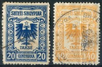 Buy Online - ALBANIA REVENUES, 1930 ISSUE (W.86)