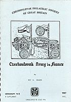 Buy Online - CZECHOSLOVAK ARMY IN FRANCE (B.95)
