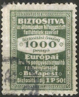 European Railway Insurance Stamps - Information