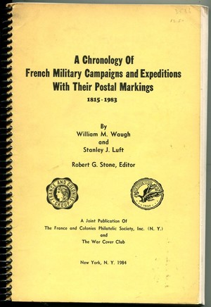 FRENCH MILITARY CAMPAIGNS / POSTAL MARKINGS (B.186)