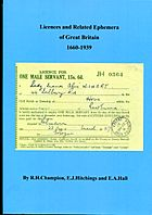 Buy Online - LICENCES...OF GREAT BRITAIN 1660-1939 (B.2)