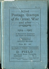 Buy Online - POSTAGE STAMPS OF THE GREAT WAR 1914-1923 (B.125)