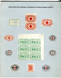 Buy Online - SWISS RED CROSS & FRANCHISE STAMPS 1870-71 (B.75)