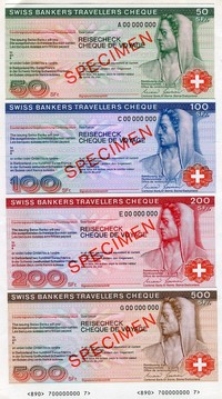 Buy Online - TRAVELLERS CHEQUES (L.101)