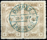 Buy Online - ALBANIA REVENUES, 1913 CENTRAL ALBANIA (W.157)