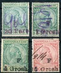 Buy Online - ALBANIA REVENUES, SKANDERBEG ISSUES (W.58)