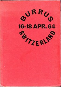 Buy Online - BURRUS AUCTION CATALOGUE 1964 (B.74)