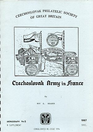 CZECHOSLOVAK ARMY IN FRANCE (B.95)