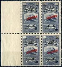 50 Equador large format L114 Stamps
