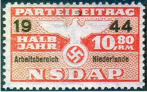 Germany NSDAP - WWII Netherlands