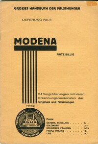 Buy Online - MODENA FORGERIES (B.277)
