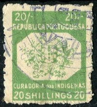 Buy Online - MOZAMBIQUE - NATIVE MIGRANTS TAX (W.452) (revenues)