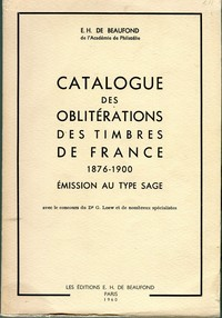 Buy Online - OBLITERATIONS DE FRANCE 1876-1900 (B.154)