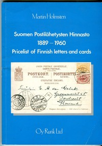 Buy Online - PRICELIST OF FINNISH LETTERS 1889-1960 (B.85)