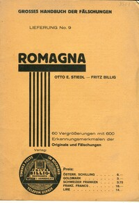 Buy Online - ROMAGNA FORGERIES (B.272)