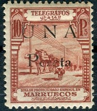 Buy Online - SPANISH COLONIES - MOROCCO - TELEGRAPH (W.312)