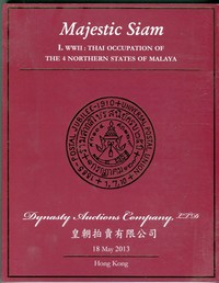 Buy Online - THAI OCCUPATION MALAYA WWII (B.136)