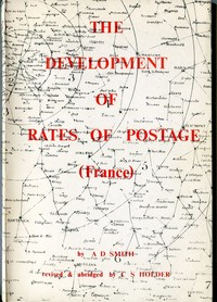 Buy Online - THE DEVELOPMENT OF RATES OF POSTAGE (B.58)