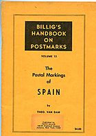 Buy Online - THE POSTAL MARKINGS OF SPAIN