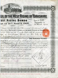 Buy Online - WEST RIDING BOND (L.1)