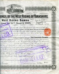 Buy Online - WEST RIDING BOND (L.3)